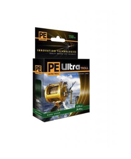 Леска Aqua PE Ultra Troll 0,40 мм